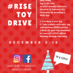 Toy Drive for UCSF Benioff Children's Hospital in Oakland